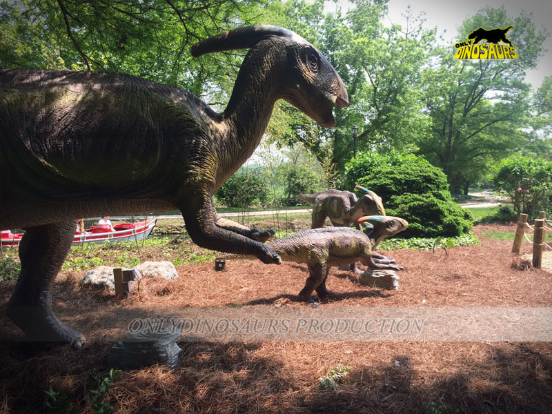 Outdoor Dinosaur Exhibition