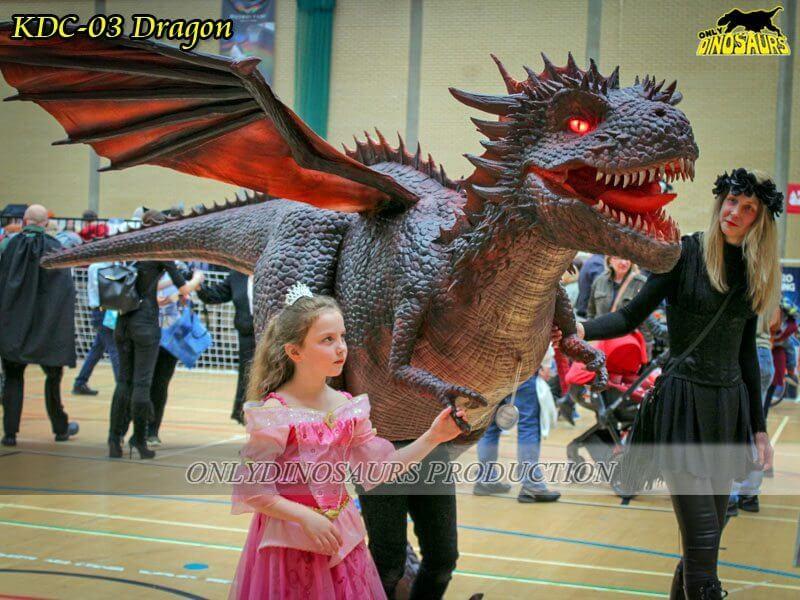 KDC 03 Realistic Dragon Costume 1