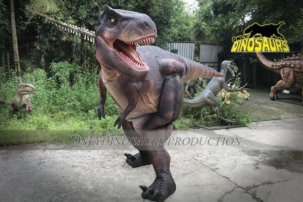 Super Realistic Hidden Legs Dinosaur Costume 1