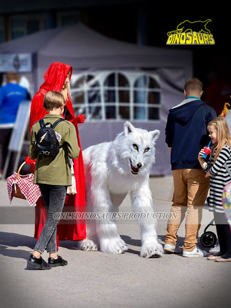 Wolf Suit Playing in the Street