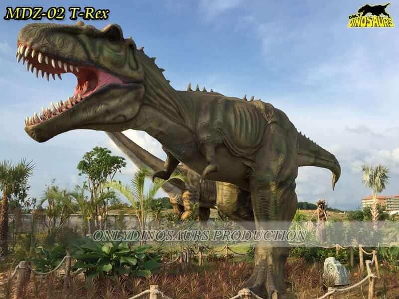 MDZ 02 Animatronic Dinosaur trex 1