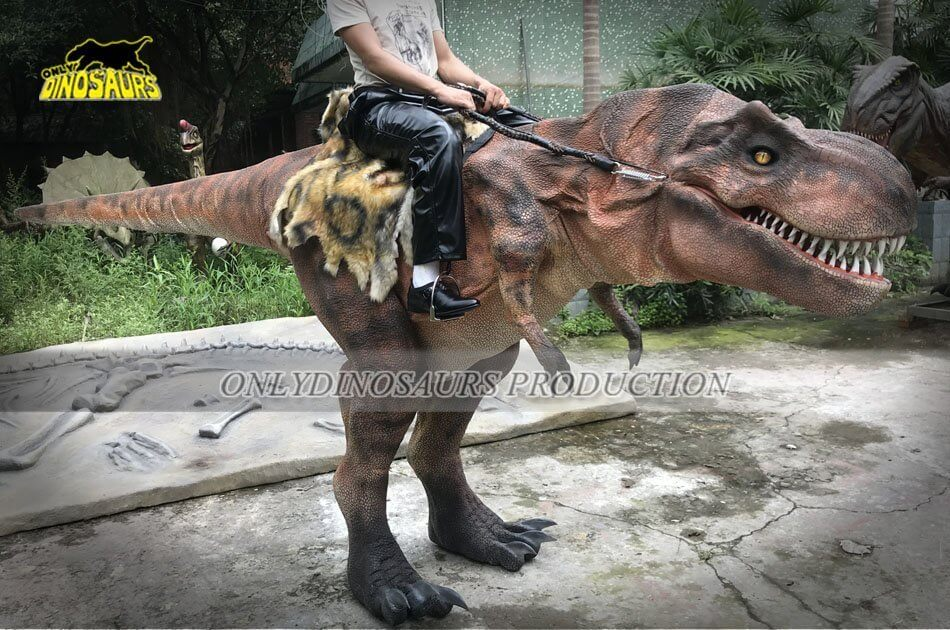 T Rex Riding Costume Feature 4