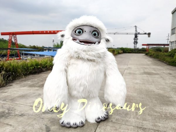 Abominable Snow Costume Yeti Costume2