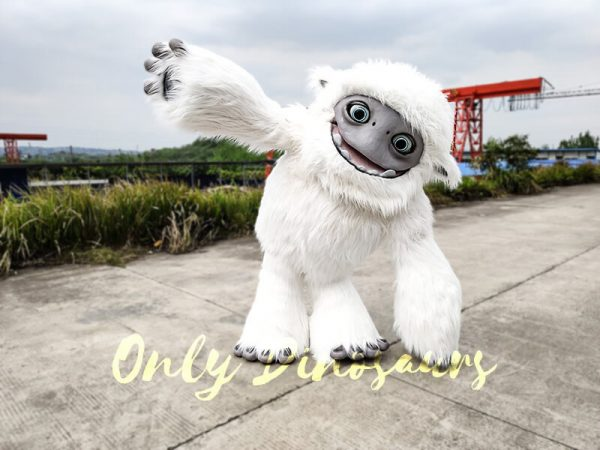 Abominable Snow Costume Yeti Costume4