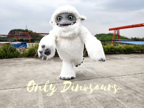 Abominable Snow Costume Yeti Costume6