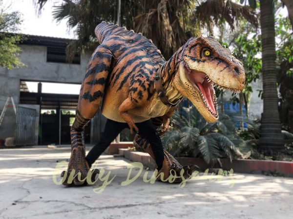 Adult Jurassic World T Rex Costume for Wow Party1