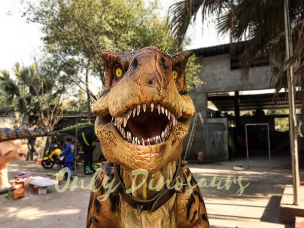 Adult Jurassic World T Rex Costume for Wow Party3