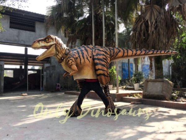 Adult Jurassic World T Rex Costume for Wow Party6