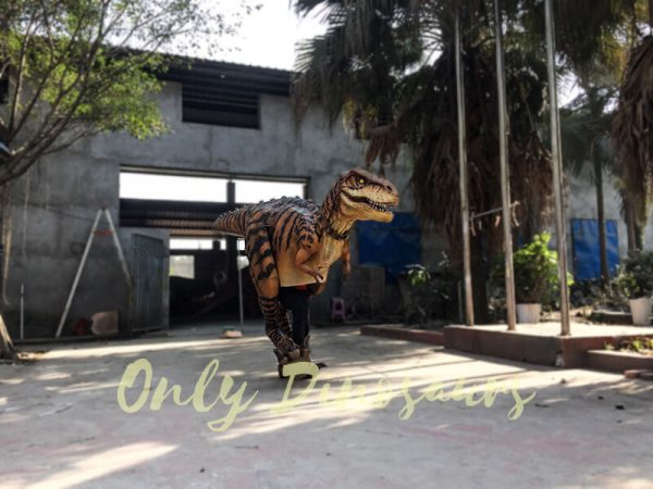 Adult Jurassic World T Rex Costume for Wow Party7