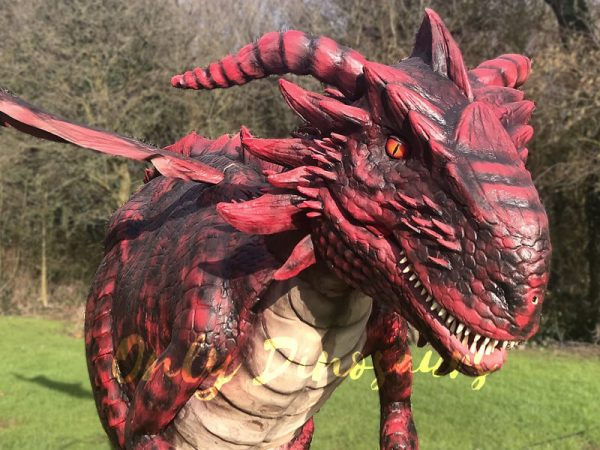 Amazing-Adult-Dragon-Costume-Black-Red-Color9