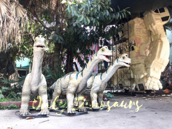 Animatronic Baby Brachiosaurus for Dinosaur Park1 1