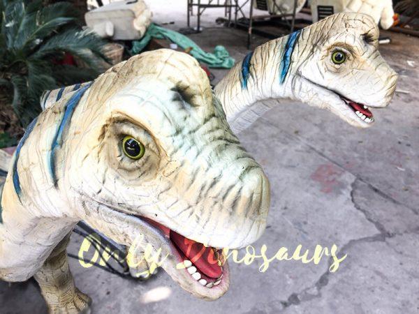 Animatronic Baby Brachiosaurus for Dinosaur Park2 1