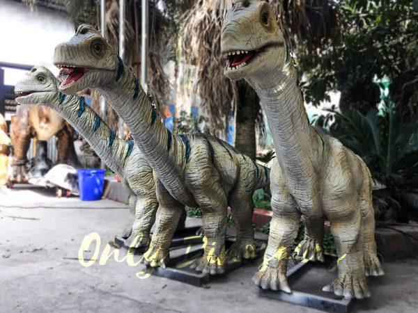 Animatronic Baby Brachiosaurus for Dinosaur Park3 1