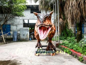 Animatronic Carnotaurus for Dinosaur Event Scene