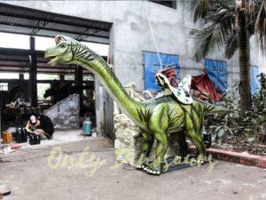 Animatronic Dinosaur Ride Brachiosaurus for Theme Park