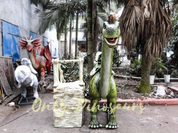 Animatronic Dinosaur Ride Brachiosaurus for Theme Park2 1