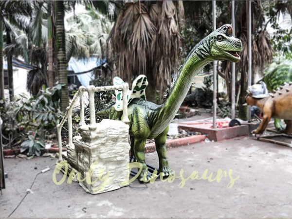 Animatronic Dinosaur Ride Brachiosaurus for Theme Park3 1