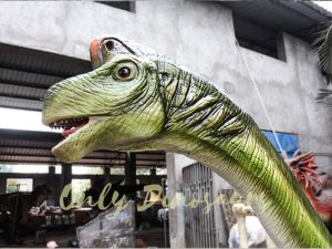 Animatronic Dinosaur Ride Brachiosaurus for Theme Park