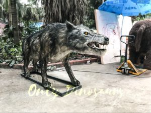 Animatronic Dire Wolf Ice Age Animals