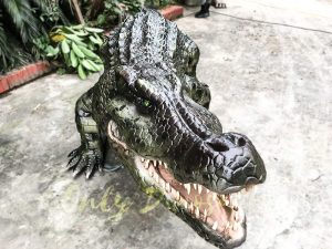 Aquarium Lifelike Crocodile Animatronic Animals