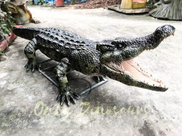 Aquarium Lifelike Crocodile Animatronic Animals2 1