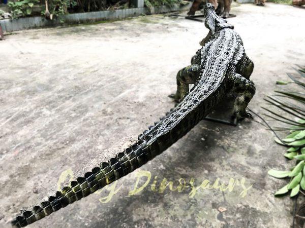 Aquarium Lifelike Crocodile Animatronic Animals3 1
