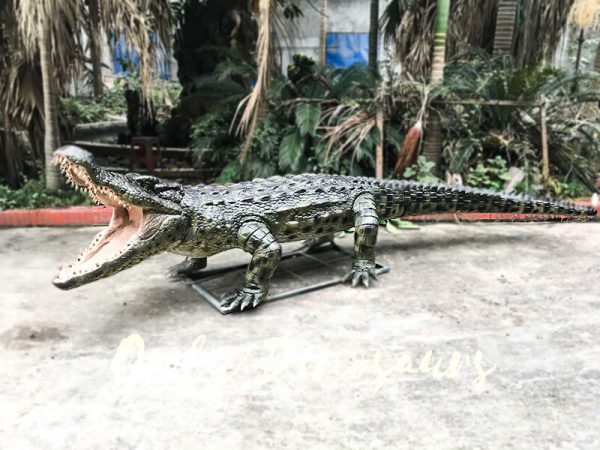 Aquarium Lifelike Crocodile Animatronic Animals4 1