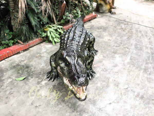 Aquarium Lifelike Crocodile Animatronic Animals5 1