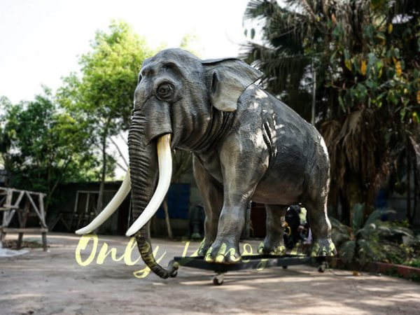 Artificial Animatronic Elephant Jungle Animal1 1