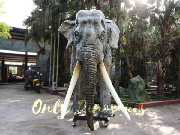 Artificial Animatronic Elephant Jungle Animal2 1