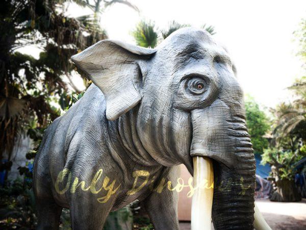 Artificial Animatronic Elephant Jungle Animal5 1