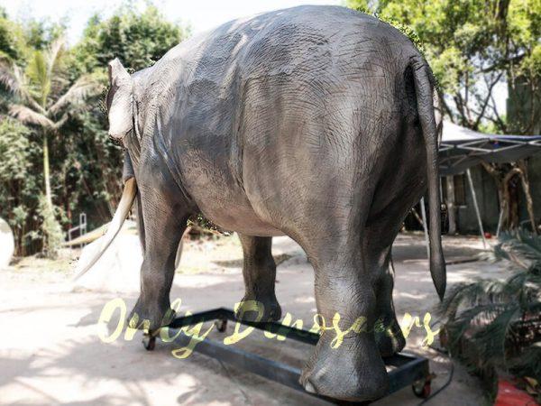 Artificial Animatronic Elephant Jungle Animal6 1