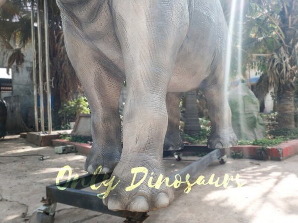 Artificial Animatronic Elephant Jungle Animal8 1