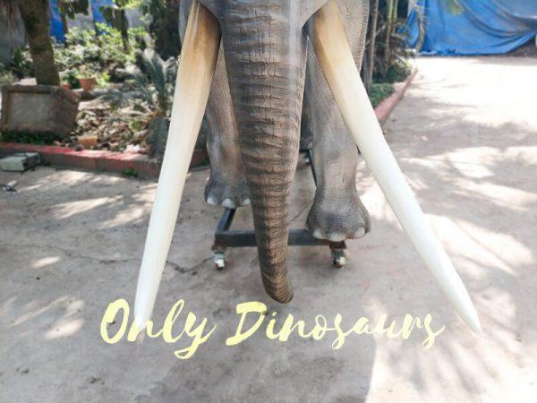 Artificial Animatronic Elephant Jungle Animal9 1