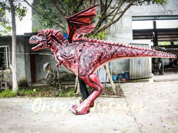 Authentic Lifelike Dragon Costume Visible Legs1 1