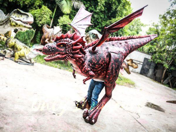 Authentic Lifelike Dragon Costume Visible Legs2 1