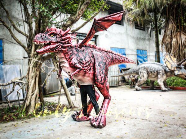 Authentic Lifelike Dragon Costume Visible Legs3 1