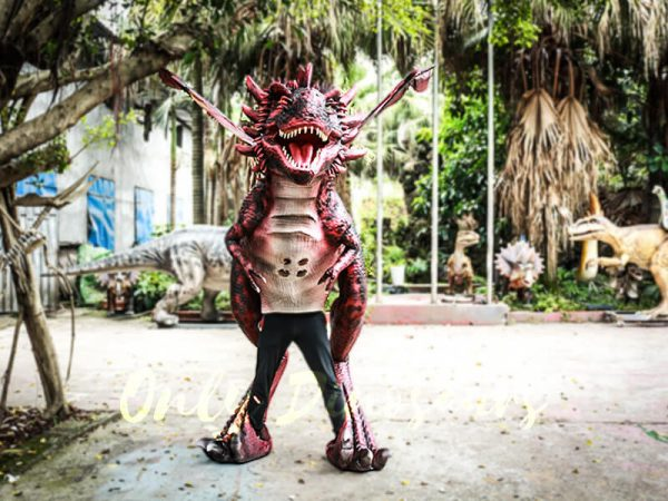 Authentic Lifelike Dragon Costume Visible Legs4 1