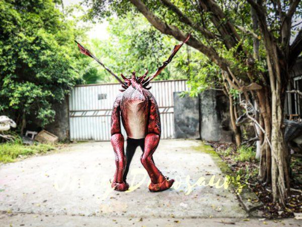 Authentic Lifelike Dragon Costume Visible Legs5 1