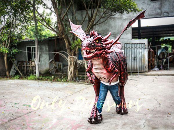 Authentic Lifelike Dragon Costume Visible Legs7