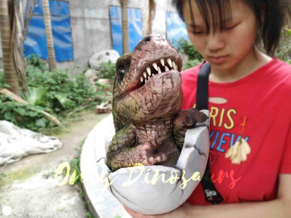 Baby-Hatching-T-Rex-Puppet-Kids-Gift