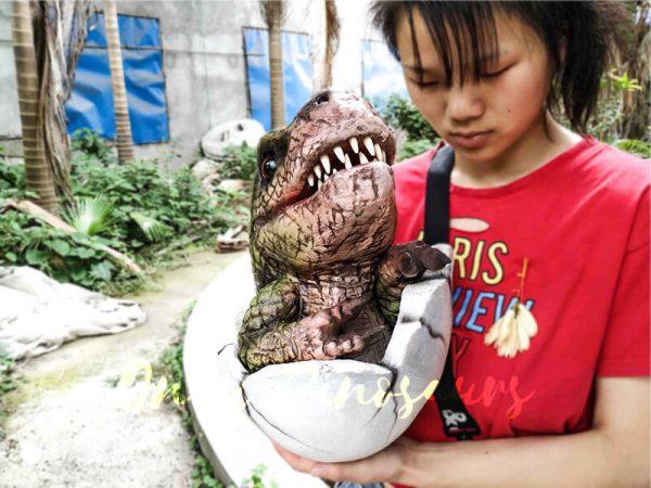 Baby Hatching T-Rex Puppet Kids Gift2