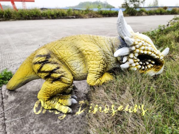 Baby Stygimoloch Puppet With Super Cute Yellow Color1 1