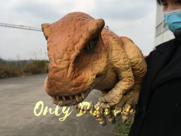 Baby-T-Rex-Puppet-for-Kids-Birthday-Party2-3