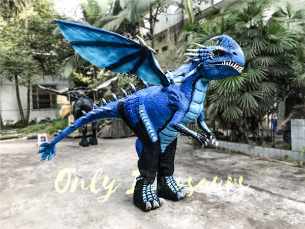 Blue Nadder Dragon Costume How to Train Your Dragon1 1