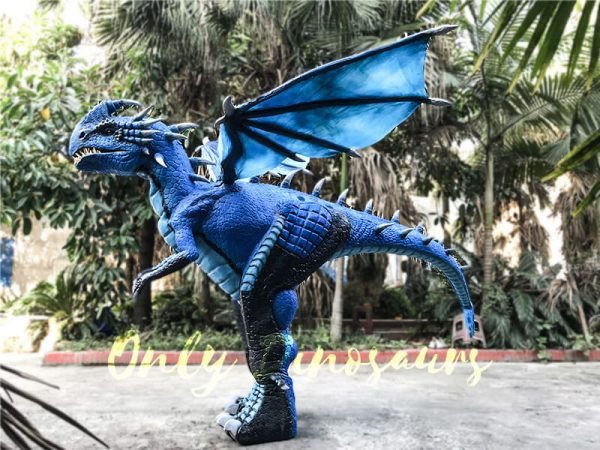 Blue Nadder Dragon Costume How to Train Your Dragon5 1