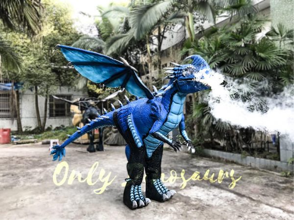 Blue Nadder Dragon Costume How to Train Your Dragon6 1