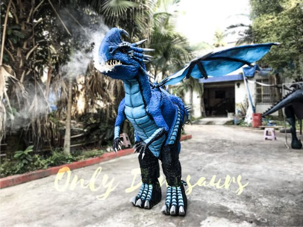 Blue Nadder Dragon Costume How to Train Your Dragon7 1