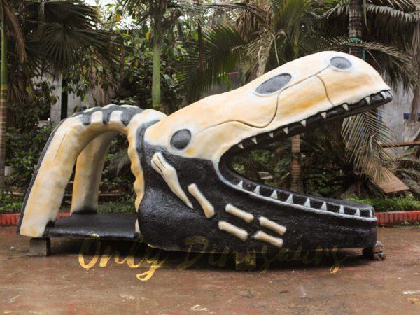 Custom-Fiberglass-Statues-Dinosaur-Head-Sculpture-111