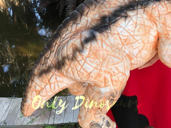 Customized-Baby-Dinosaur-Puppet-With-Black-Stripe
